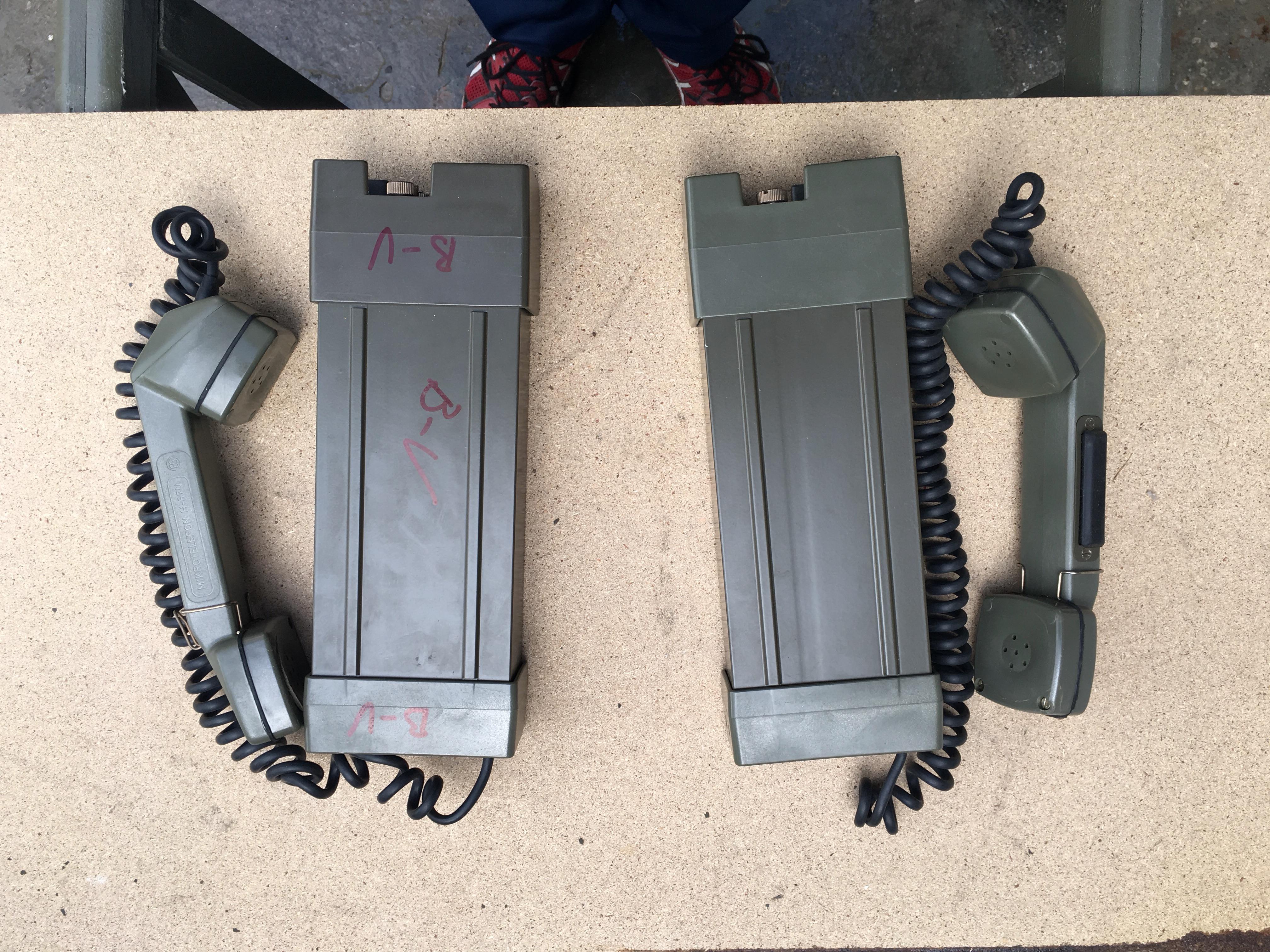 TP6N telefono de campaña